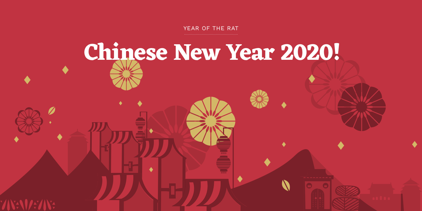 chinese new year 2020  u2013 year of the rat
